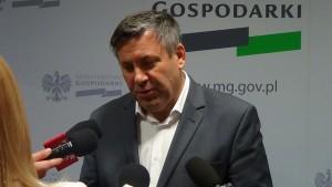 Premier Janusz Piechociński Briefing z Premierem, Ministrem Gospodarki Januszem Piechocińskim fot. ŚWIECZAK