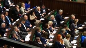 Małgorzata Kidawa-Błońska nowym marszałkiem Sejmu fot. ŚWIECZAK