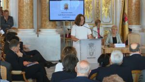 Uroczysta sesja Rady Miasta Warszawy na Zamku Królewskim