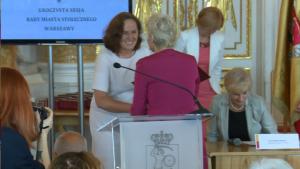 Anna Chodakowska Uroczysta sesja Rady Miasta Warszawy na Zamku Królewskim