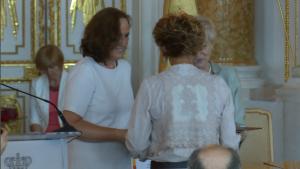 Małgorzata Dońska-Olszko Uroczysta sesja Rady Miasta Warszawy na Zamku Królewskim