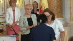 Lidia Eberle Uroczysta sesja Rady Miasta Warszawy na Zamku Królewskim