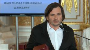 Arkadiusz Gołębiewski Uroczysta sesja Rady Miasta Warszawy na Zamku Królewskim