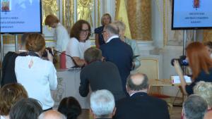 Uroczysta sesja Rady Miasta Warszawy na Zamku Królewskim<br />