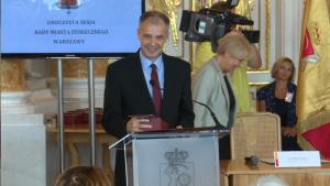 Piotr Jankowski; Uroczysta sesja Rady Miasta Warszawy na Zamku Królewskim fot. ŚWIECZAK