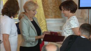 Justyna Matejczyk Uroczysta sesja Rady Miasta Warszawy na Zamku Królewskim fot. ŚWIECZAK
