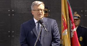 Prezydent Bronisław Komorowski wręczył odznaczenia państwowe weteranom Powstania Warszawskiego