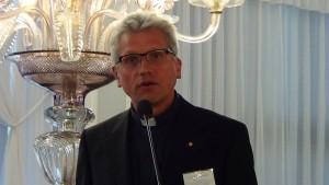 """o.prof. dr hab. Zdzisław Kijas Konferencja naukowa """"Zrównoważony rozwój i zmiany klimatyczne w świetle Encykliki Ojca Świętego Franciszka Laudato Si"""" fot. ŚWIECZAK"""
