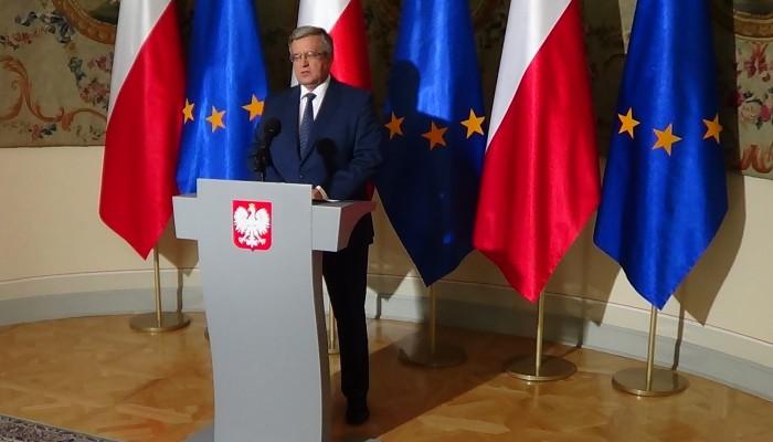 Prezydent ogłosił termin wyborów parlamentarnych -  25 października fot. ŚWIECZAK