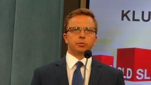Dariusz Joński  Projekt ustawy SLD ws. dopalaczy fot. ŚWIECZAK