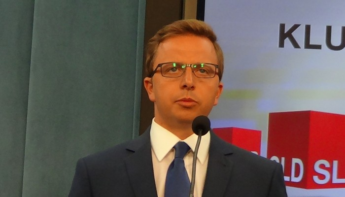 Dariusz Joński Rzecznik prasowym Sojuszu Lewicy Demokratycznej SLD - byliśmy gotowi na każdą datę wyborów parlamentarnych