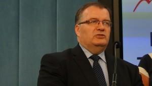 Andrzej Dera (ZP) Konferencja prasowa - Protest pracowników sądów i prokuratur fot. ŚWIECZAK