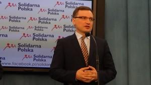Zbigniew Ziobro,  Wniosek do PG o podjęcie sprawy zegarka ministra Kamińskiego. Równość wobec prawa. fot. ŚWIECZAK
