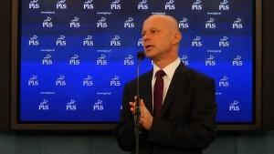 Paweł Szałamacha poseł na Sejm Platforma przyspiesza wyprzedaż spółek strategicznych przed wyborami fot. ŚWIECZAK