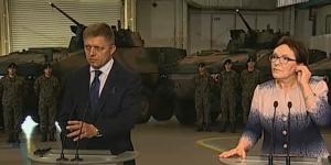 Premierzy Polski i Słowacji podpisali list intencyjny ws. współpracy w dziedzinie uzbrojenia fot. ŚWIECZAK