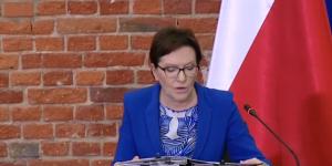 Premier Ewa Kopacz  Wyjazdowe posiedzenie Rady Ministrów w Łodzi  fot. ŚWIECZAK