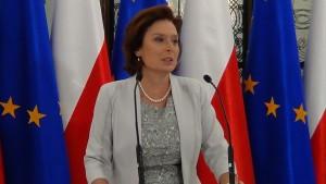 Briefing prasowy marszałek Sejmu Małgorzaty Kidawa-Błońskiej fot. ŚWIECZAK