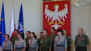 Spotkanie Prezydenta RP z reprezentacją harcerzy fot. ŚWIECZAK