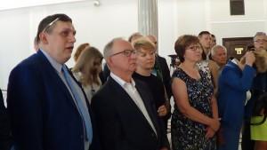 """W Sejmie otwarto wystawę """"Bieżeństwo (uchodźstwo) 1915. Wspólna historia"""" fot. ŚWIECZAK"""