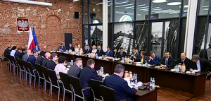 Wyjazdowe posiedzenie Rady Ministrów w Łodzi fot. ŚWIECZAK