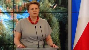 prof. Małgorzata Omilanowska minister kultury i dziedzictwa narodowego Muzeum Historii Polski w Warszawie powstanie do 2018 roku fot. ŚWIECZAK