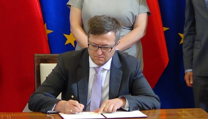 Robert Kostro dyrektor Muzeum Historii Polski Muzeum Historii Polski w Warszawie powstanie do 2018 roku fot. ŚWIECZAK