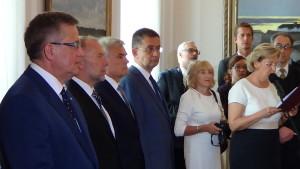 Uroczystość przekazania odznaczenia państwowego rodzinie Kazimierza Skarżyńskiego fot. ŚWIECZAK
