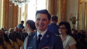generał Irena Doroszkiewicz Centralne obchody Święta Policji w Zamku Królewskim fot. ŚWIECZAK