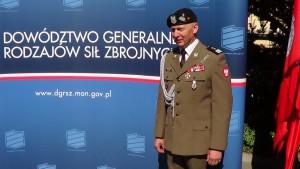 gen. dyw. Mirosław Różański Uroczystość przekazania obowiązków Dowódcy Generalnego Rodzajów Sił Zbrojnych fot. ŚWIECZAK