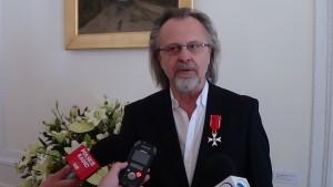 Jan A. P. Kaczmarek Odznaczenia dla twórców i mecenasów kultury  fot. ŚWIECZAK
