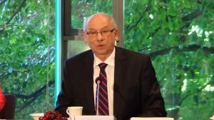 Janusz Lewandowski Przewodniczący Rady Gospodarczej Nadzwyczajne posiedzenie Rady Gospodarczej fot. ŚWIECZAK