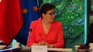 Ewa Kopacz Prezes Rady Ministrów Nadzwyczajne posiedzenie Rady Gospodarczej fot. ŚWIECZAK