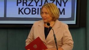 Konferencja prasowa Wicemarszałkini Sejmu RP Wandy Nowickiej- Matki Polki Przedsiębiorczynie
