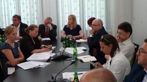 """Informacja Ministra Zdrowia na temat """"białych plam"""" w polskiej onkologii fot. ŚWIECZAK"""