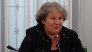 """senator Dorota Czudowska Informacja Ministra Zdrowia na temat """"białych plam"""" w polskiej onkologii fot. ŚWIECZAK"""