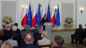 Doroczne spotkanie Prezydenta Bronisława  Komorowskiego  z ambasadorami fot. ŚWIECZAK