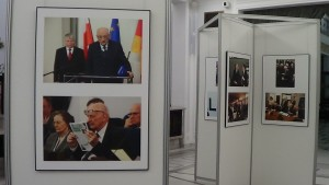 Wystawa w Sejmie - Działalność publiczna w wolnej Polsce - Władysław Bartoszewski 1922-2015 fot. ŚWIECZAK