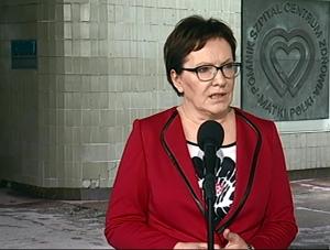 Premier Ewa Kopacz,  dwutorowa pomoc, Centrum Zdrowia Matki Polki w Łodzi, CZD fot. ŚWIECZAK
