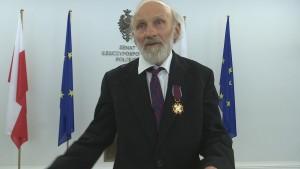 Leszek Rudnik Marszałek Senatu odznaczył byłych działaczy opozycji demokratycznej fot. ŚWIECZAK