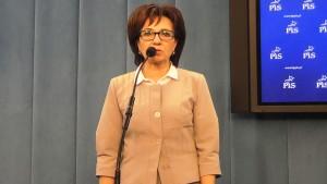 Elżbieta Witek Rzecznik PiS  Platforma przyspiesza wyprzedaż spółek strategicznych przed wyborami fot. ŚWIECZAK