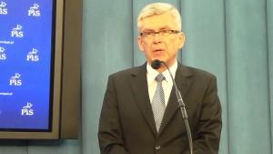 Stanisław Karczewski wicemarszałek Senatu Platforma przyspiesza wyprzedaż spółek strategicznych przed wyborami fot. ŚWIECZAK
