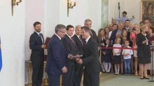 Nominacje sędziowskie w Pałacu Prezydenckim fot. ŚWIECZAK