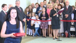 Izabela HAŸDUK-HAWRYLAK Sąd Rejonowy Otwock Nominacje sędziowskie w Pałacu Prezydenckim fot. ŚWIECZAK