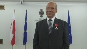 Andrzej Pasierbski Marszałek Senatu odznaczył byłych działaczy opozycji demokratycznej fot. ŚWIECZAK