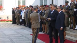 Awanse generalskie w Siłach Zbrojnych RP fot. ŚWIECZAK
