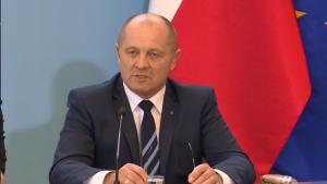 Marek Sawicki Minister Rolnictwa i Rozwoju Wsi Podwyżki dla policjantów i żołnierzy od 2016 roku fot. ŚWIECZAK