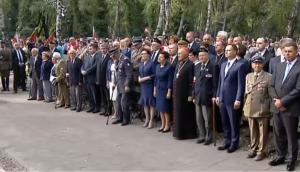 Uroczystości przed pomnikiem Gloria Victis w Warszawie fot. ŚWIECZAK