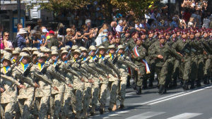 Uroczysta defilada z okazji Święta Wojska Polskiego fot. ŚWIECZAK