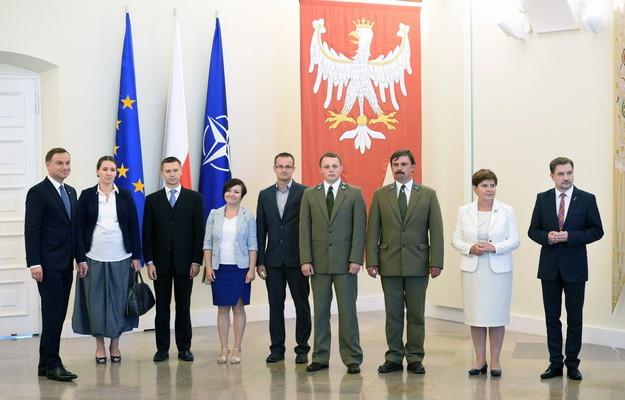 Spotkanie prezydenta z inicjatorami referendów obywatelskich fot. ŚWIECZAK