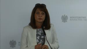 Ewa Orzełowska Wicemarszałek Województwa Maz. Sawicki: trzeba poprawić meliorację w Polsce fot. ŚWIECZAK
